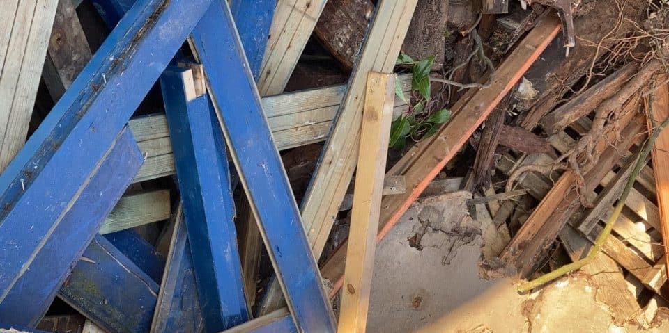 gerecyclede bouwstoffen en granulaat