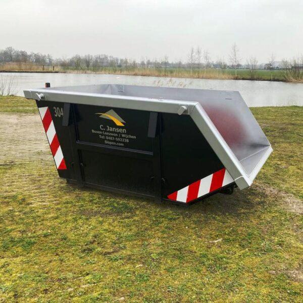 3m3 open container huren nijmegen regio